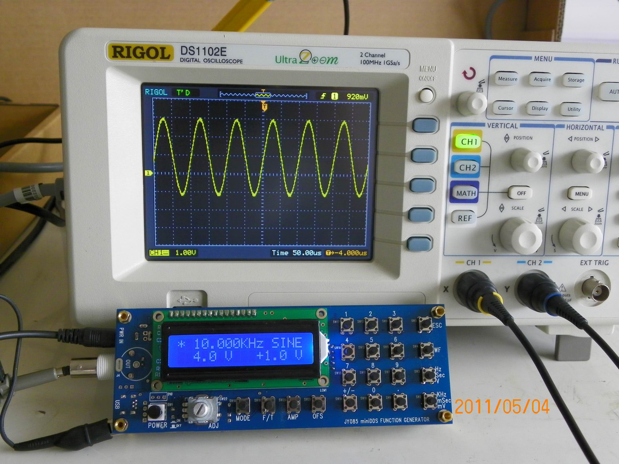 Jye tech diy oscilloscopes diy kits for hobbyists sine10khz solutioingenieria Image collections