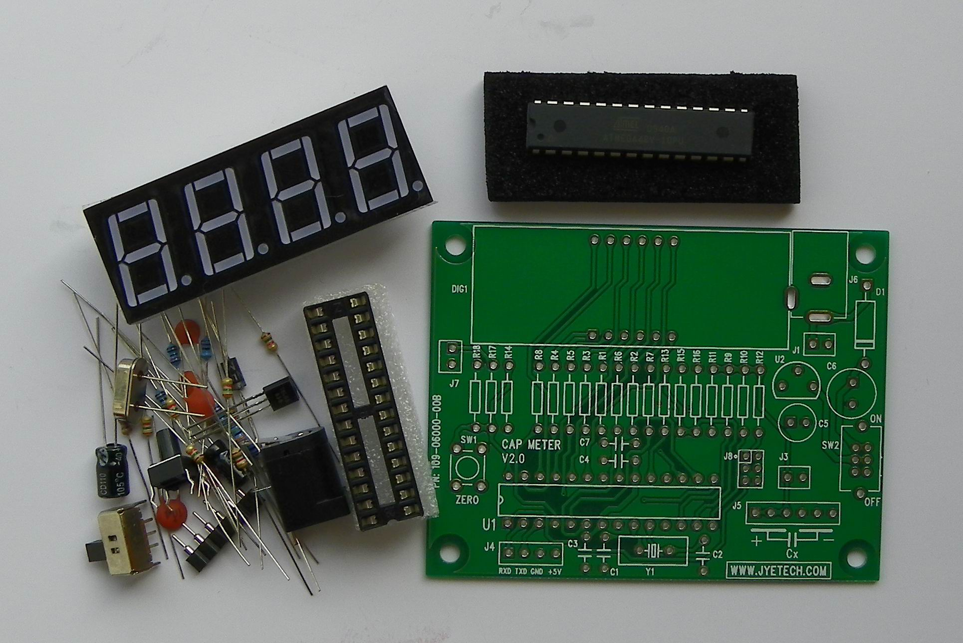 Jye Tech Diy Oscilloscopes Kits For Hobbyists Inductance Meter Circuit And Accessories