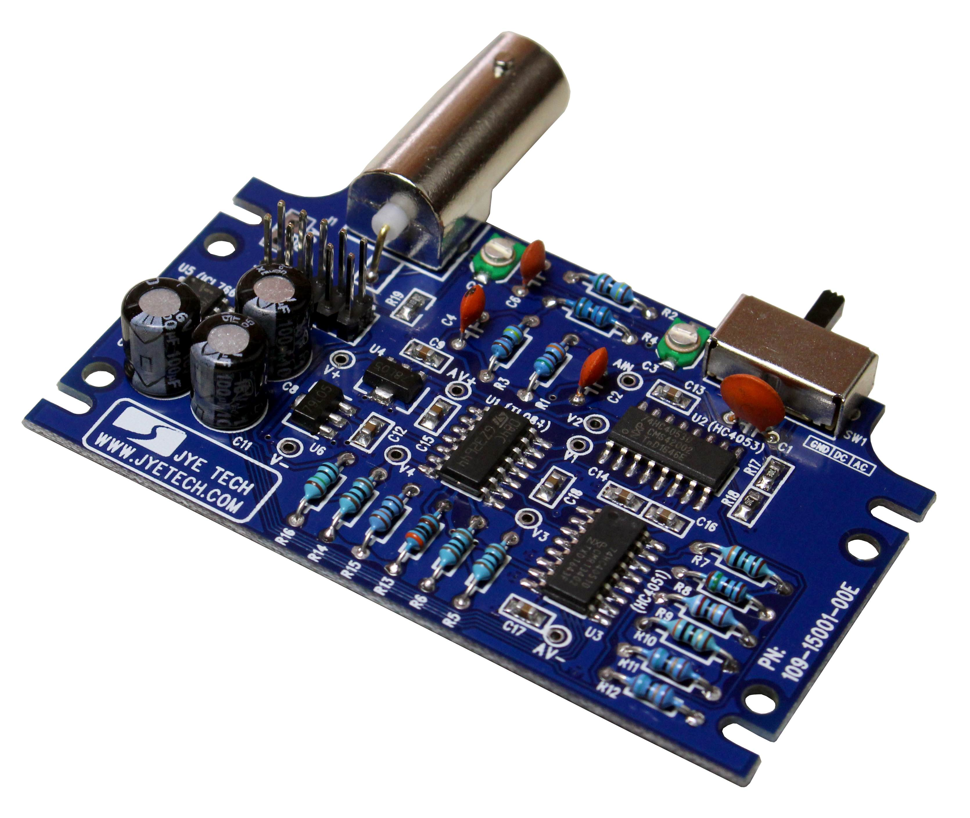 Jye Tech Diy Oscilloscopes Kits For Hobbyists Rotary Encoder Display Schematic Analog Board Changes
