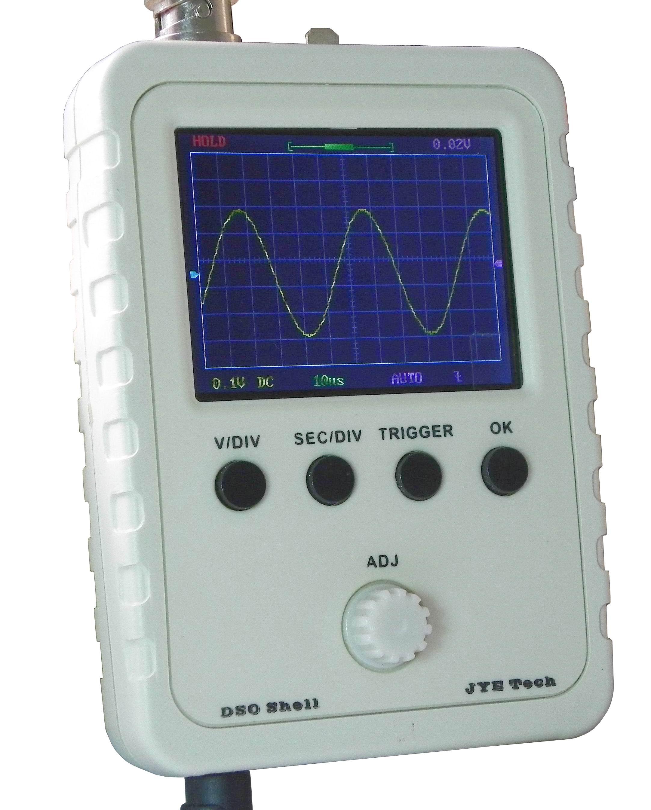 Jye Tech Diy Oscilloscopes Diy Kits For Hobbyists
