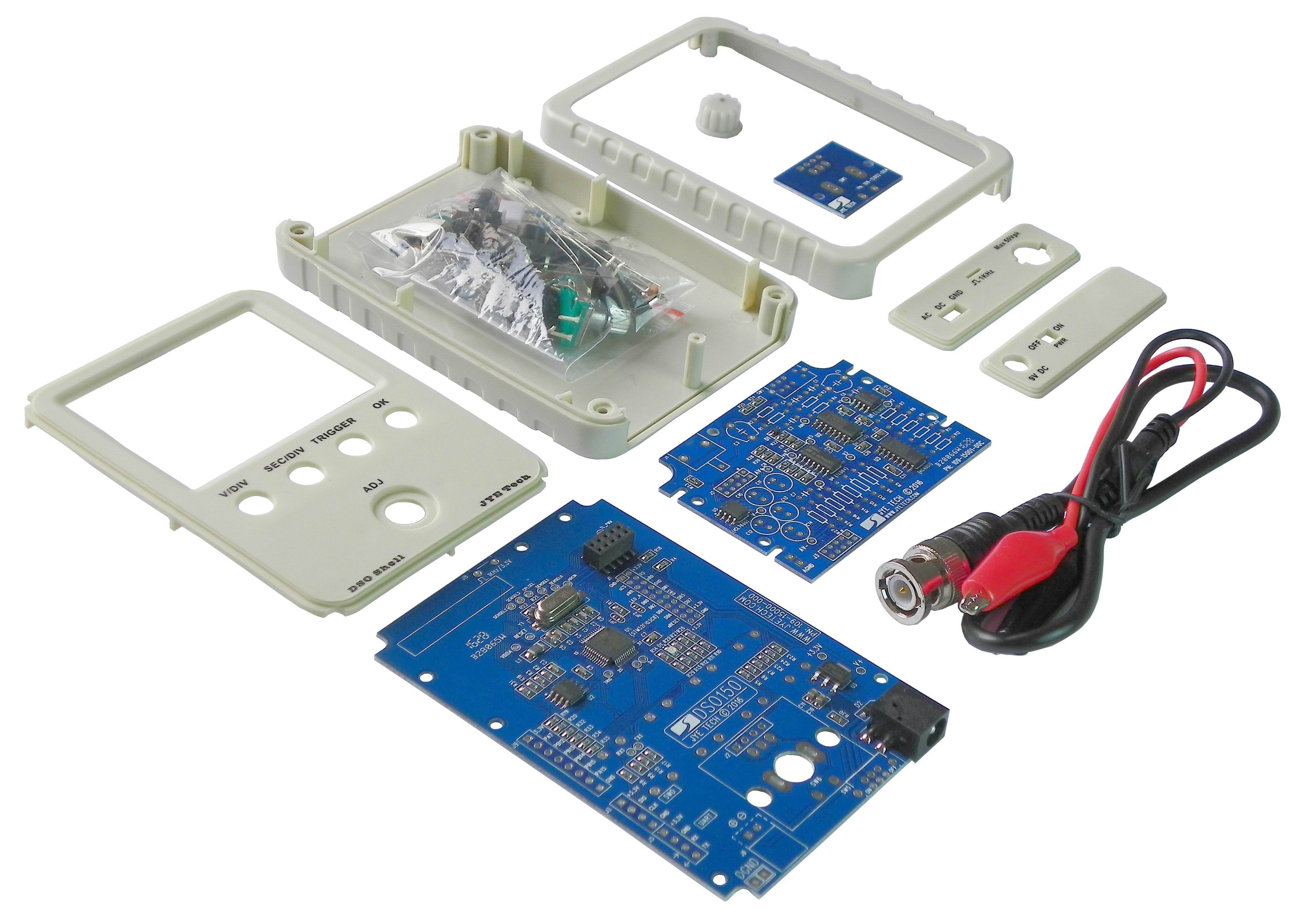 Jye Tech Diy Oscilloscopes Kits For Hobbyists Small Modifications In Firmware And Schematic Diagram Were Made By