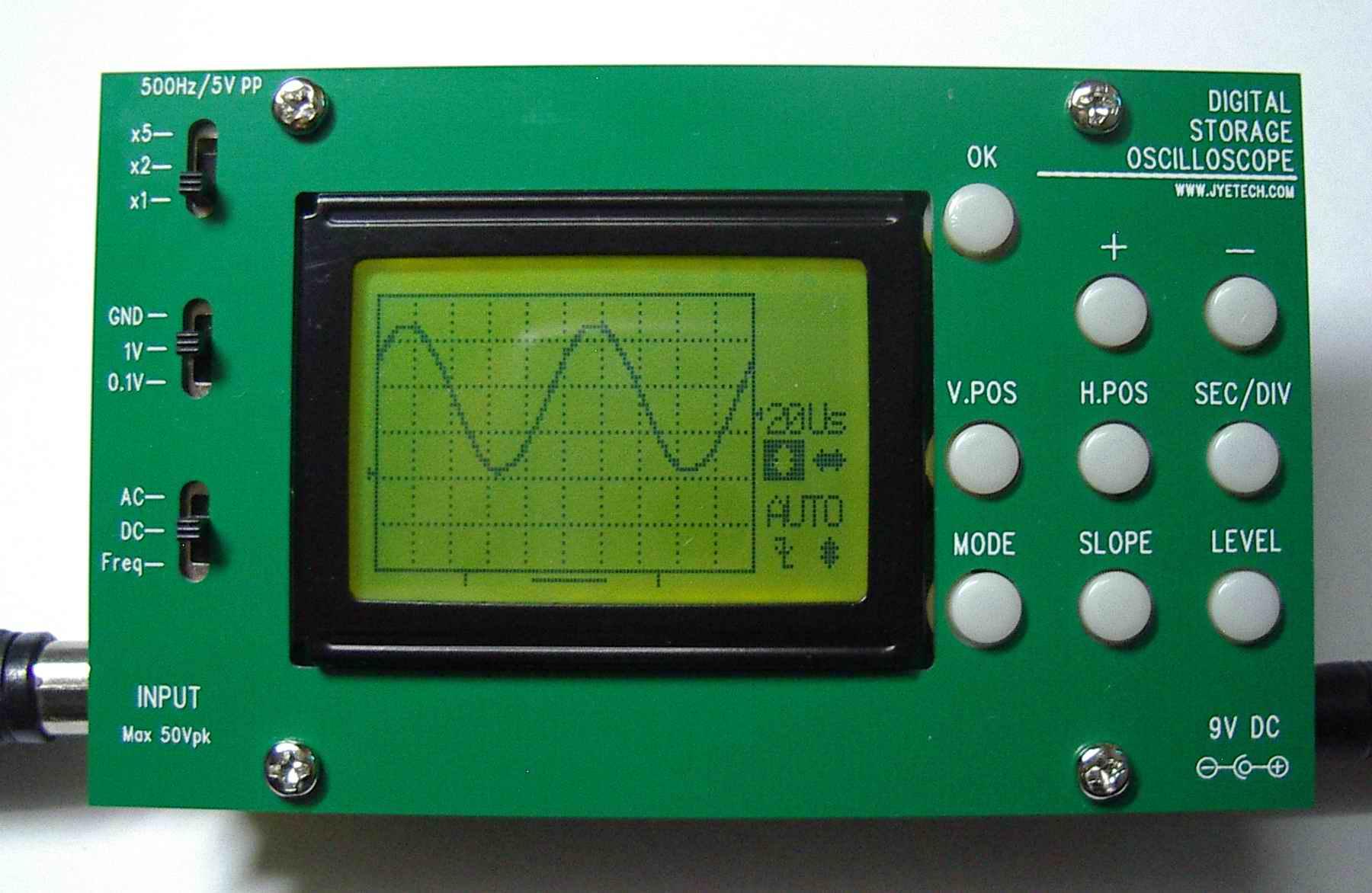 Oscilloscope Model Number : Jye tech diy oscilloscopes kits for hobbyists
