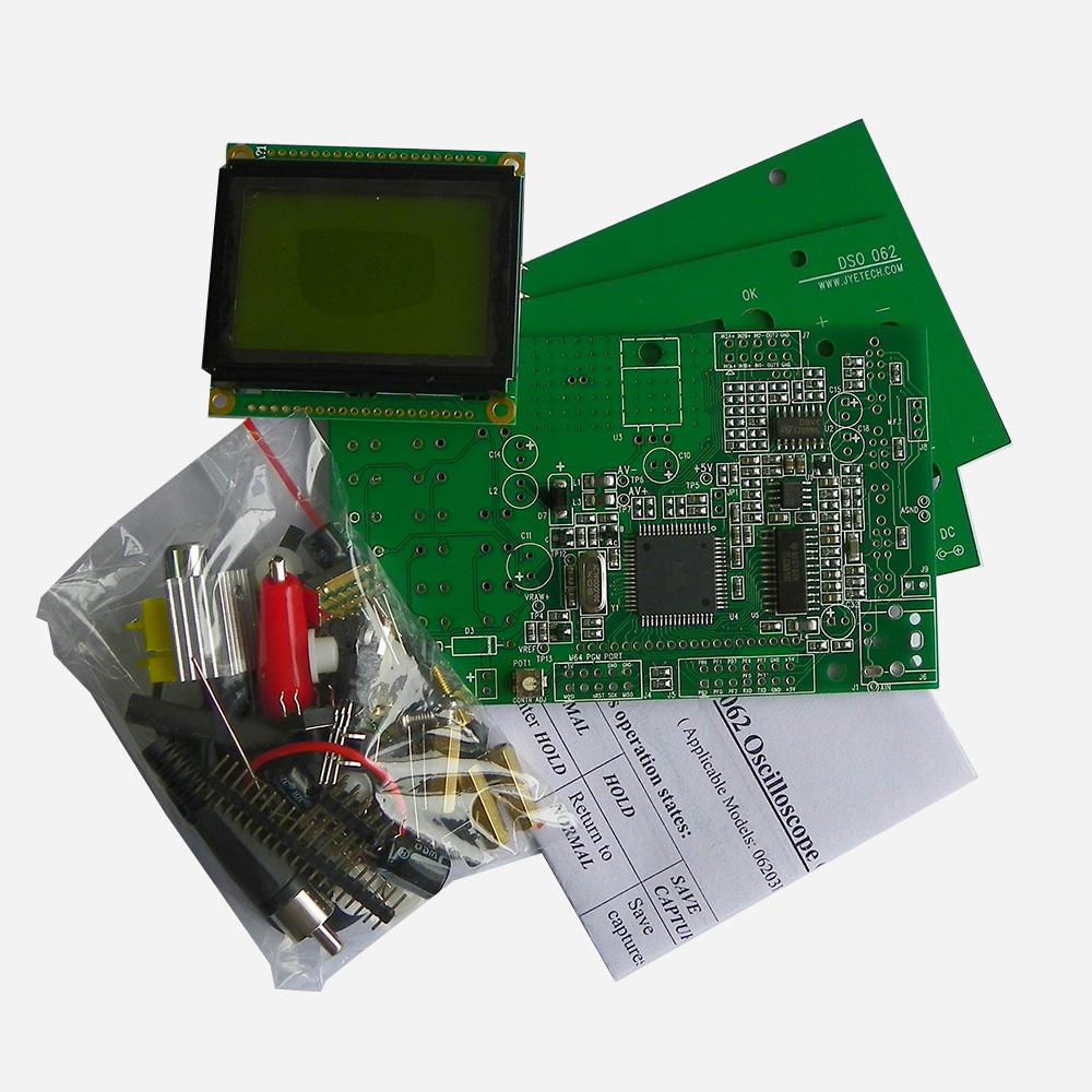 DSO 062 Oscilloscope DIY Kit | JYE Tech